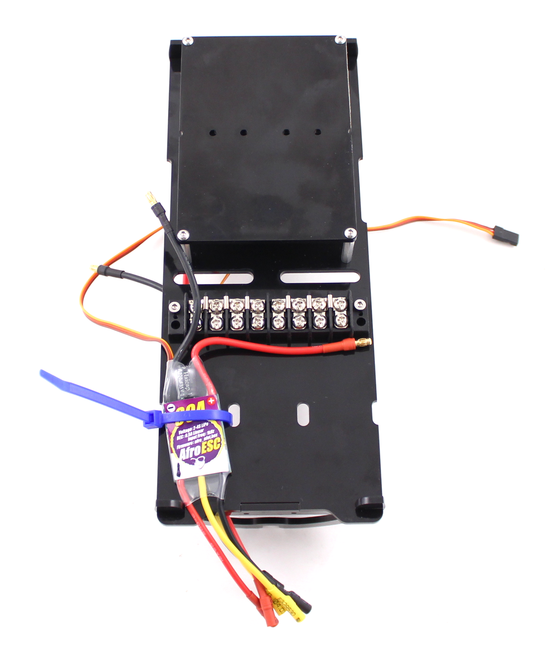 Bluerov Documentation Circuit Board Electronic Enclosure L Slide Cover Black Bottom Label The Escs 1 6 Before Mounting In Order To Keep Track Of Which Will Be Controlling Motor We Suggest Above Configuration Allow