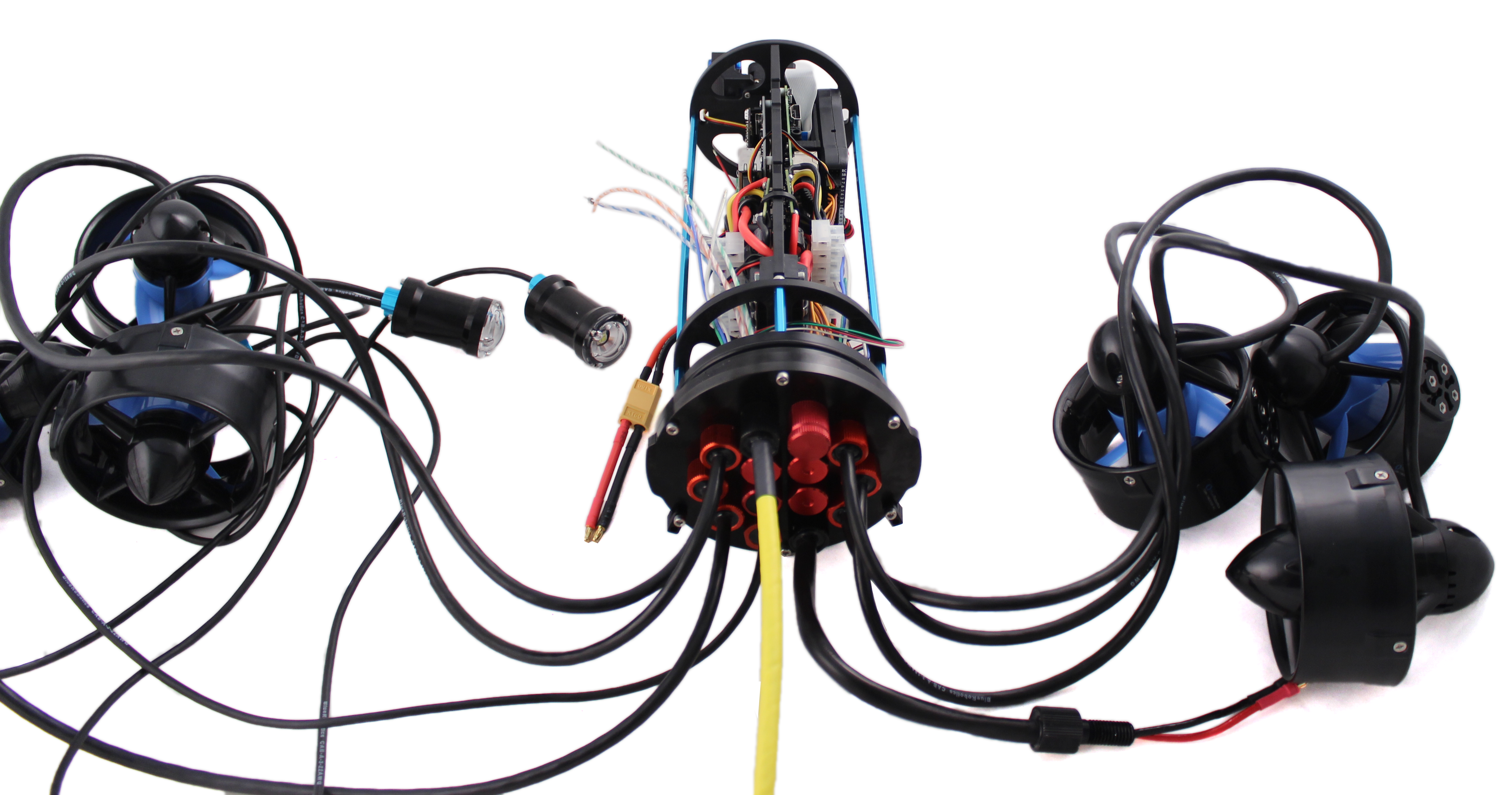 Bluerov2 Assembly Lamp 1 Ballast Wiring Diagram Get Free Image About Installing The End Cap