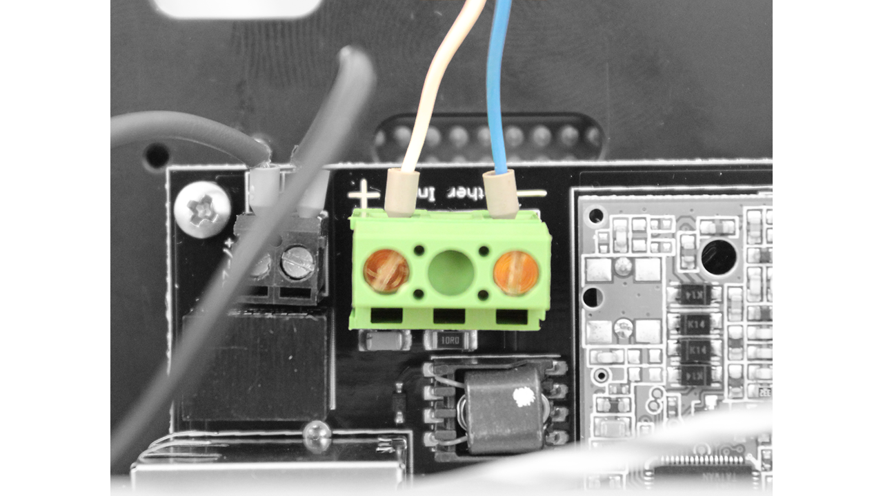 Bluerov2 Assembly Circuit Diagram Hair Dryer Connect The Tether Wires To Fathom X Interface Board Other 6 Can Do Not Need Be Connected Anything Operate Rov